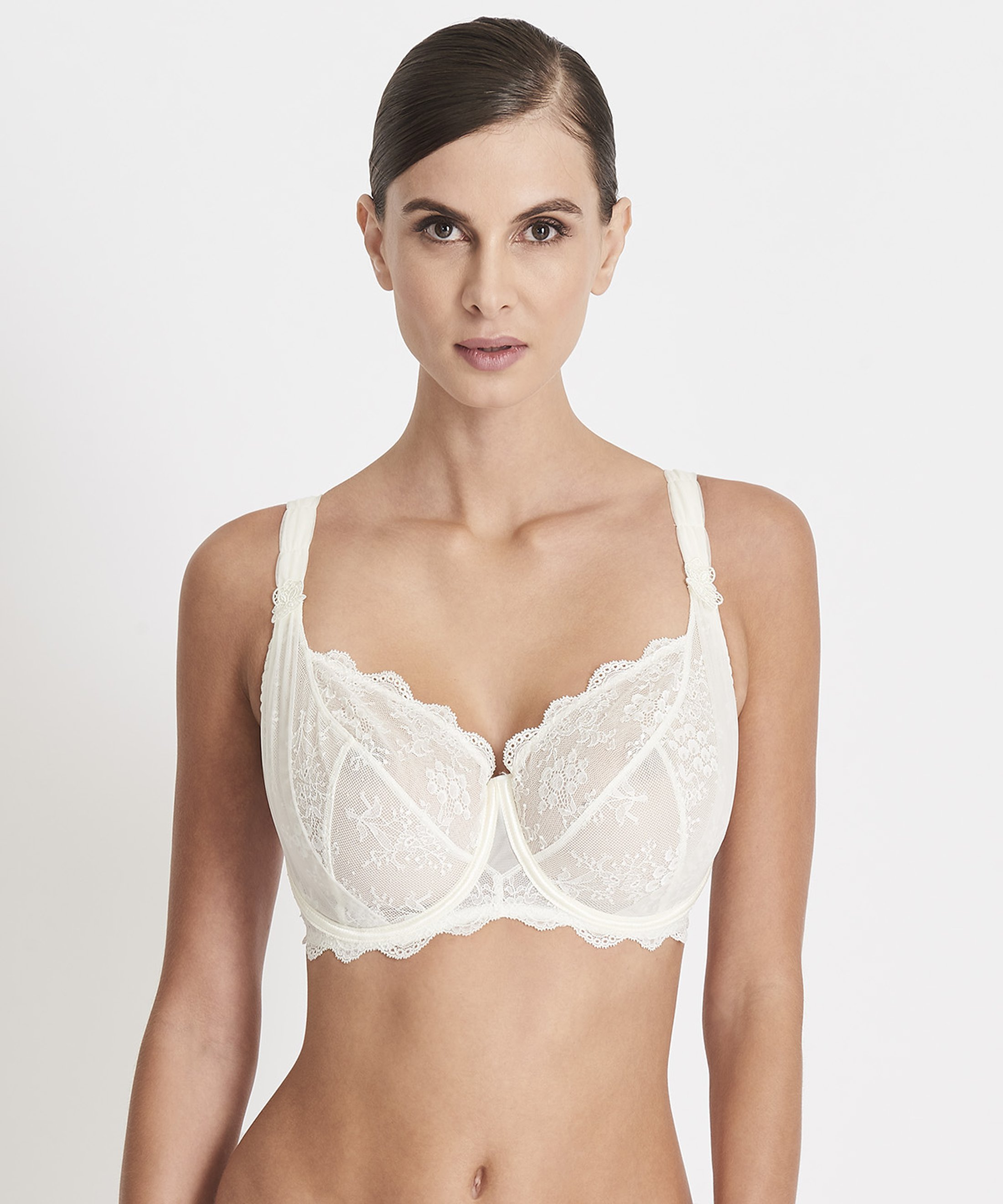 AUBADE À L'AMOUR Comfort Full Cup Bra Nacre | Aubade