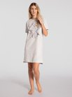 TRIUMPH Lounge-Me Cotton Kurzarm-Nachthemd, Länge 90cm