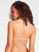 CALVIN KLEIN CK Logo Ties-S Triangel-Bikini-Top