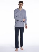 TOM TAILOR Pure Cotton Pyjama lang