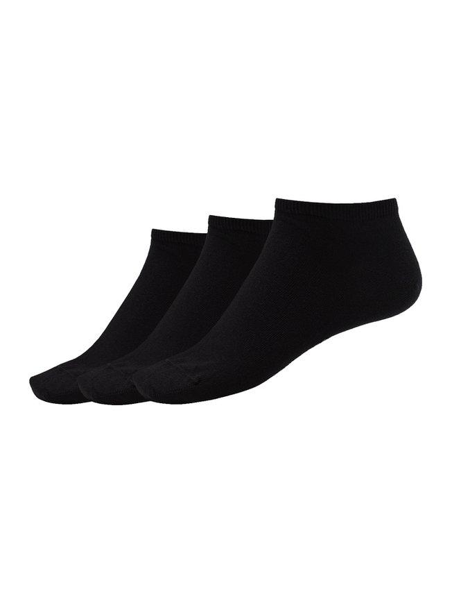 SCHIESSER Cotton Sneaker Socken, 3er Pack