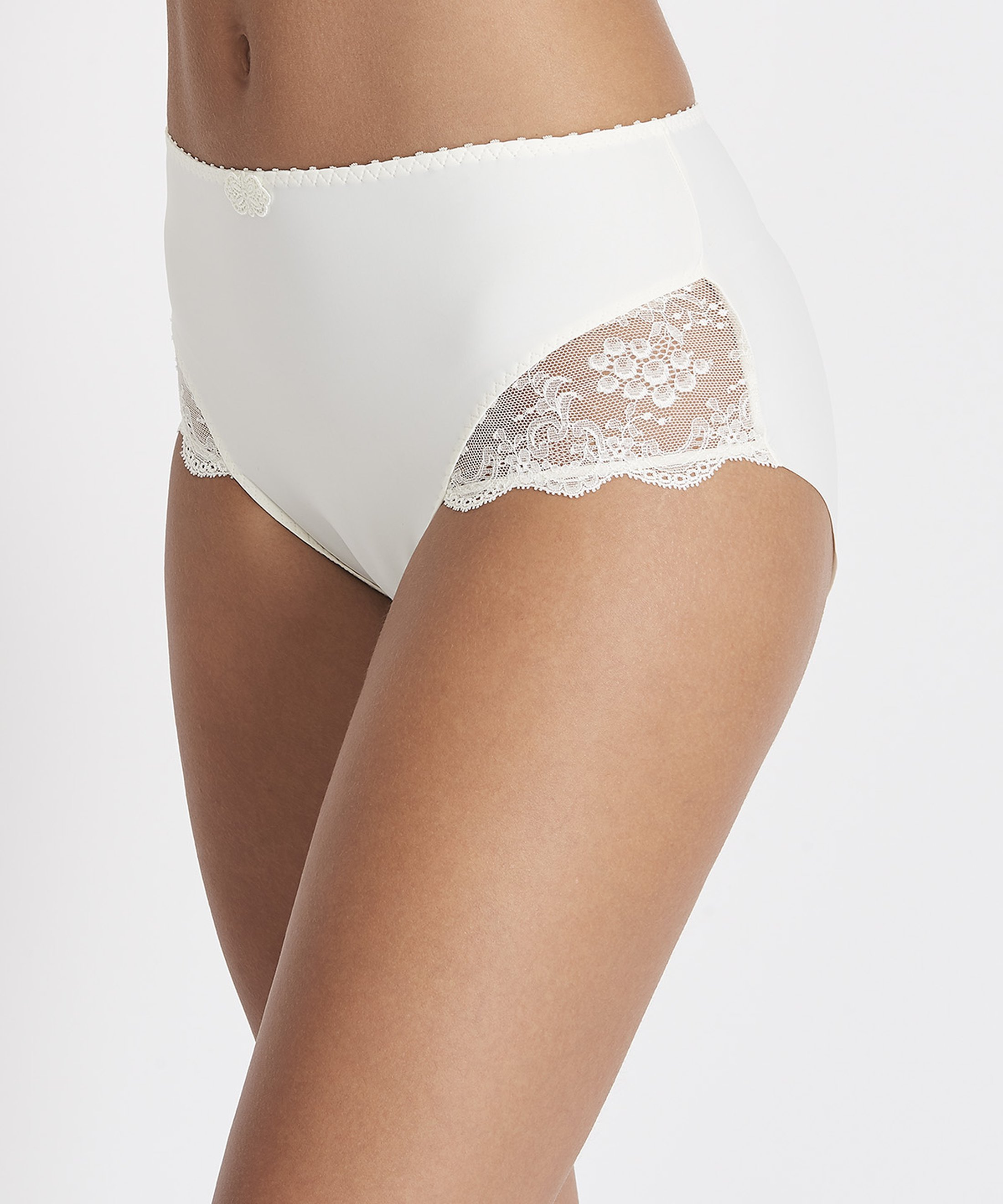 AUBADE À L'AMOUR High-waist Brief Nacre | Aubade