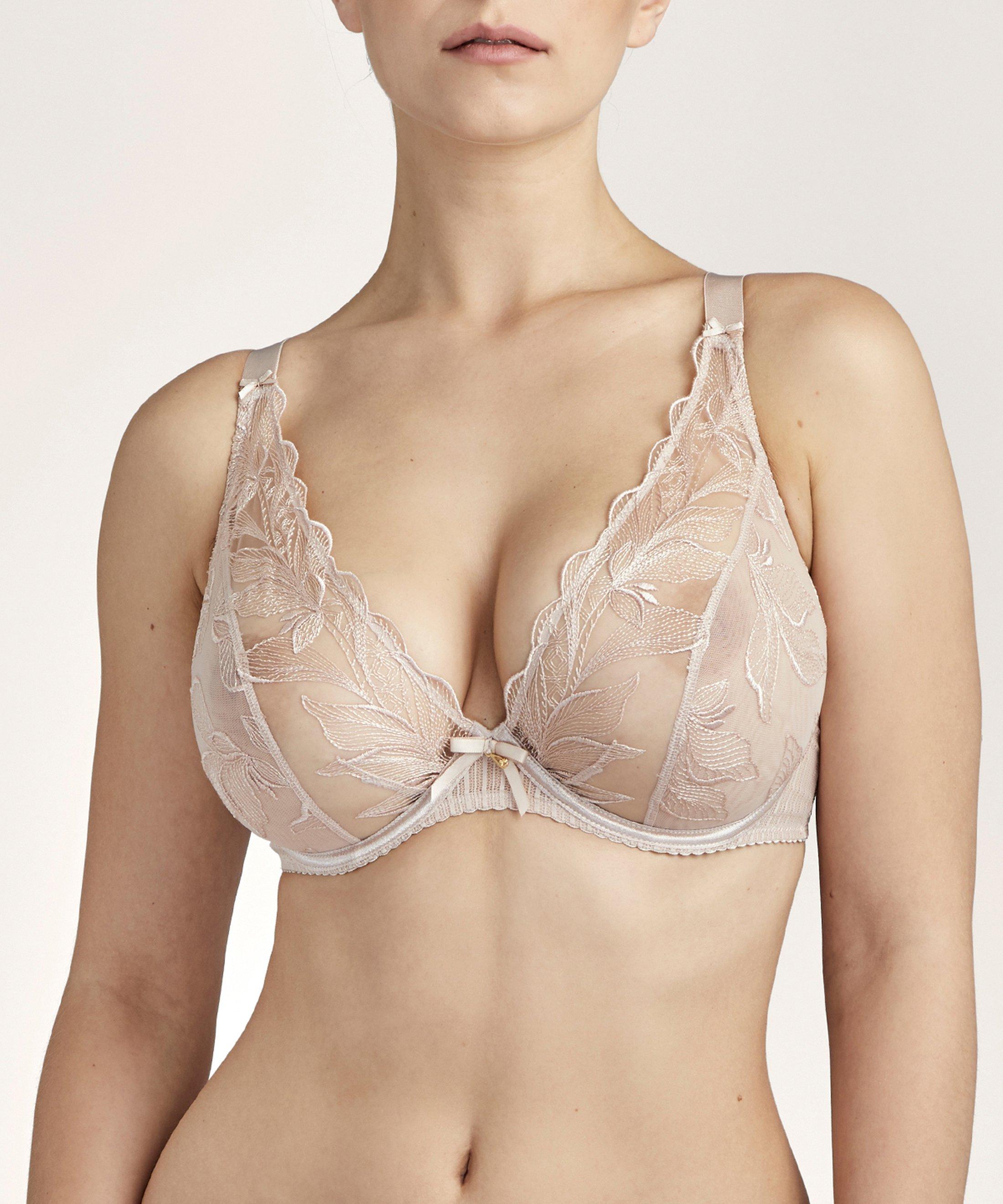 FLEUR DE TATTOO Soutien-gorge triangle avec armatures confort Nude Skin | Aubade