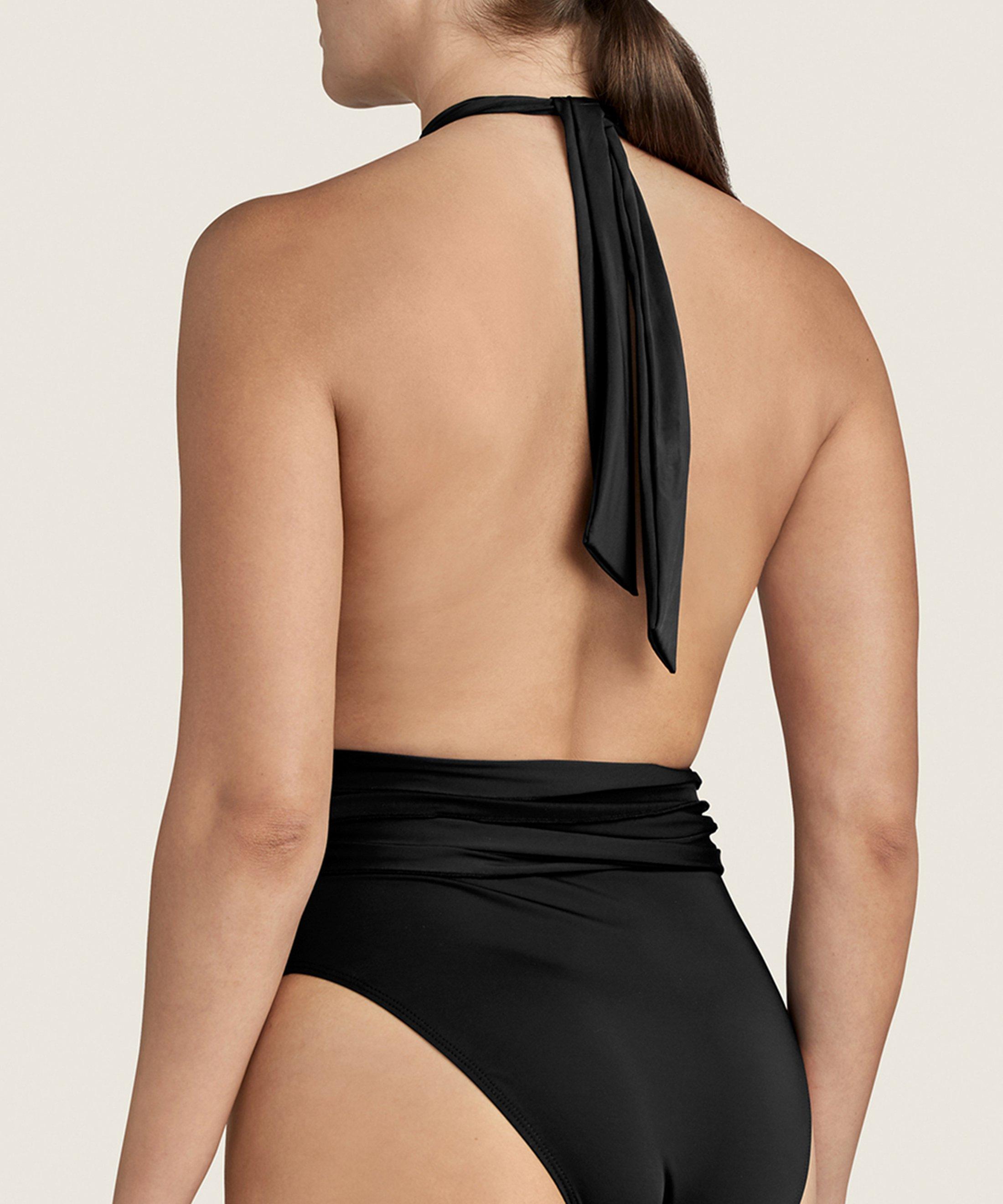 LA PLAGE ENSOLEILLÉE One-piece Swimsuit Black | Aubade