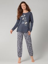 TRIUMPH Lounge-Me Cotton Bündchen-Pyjama