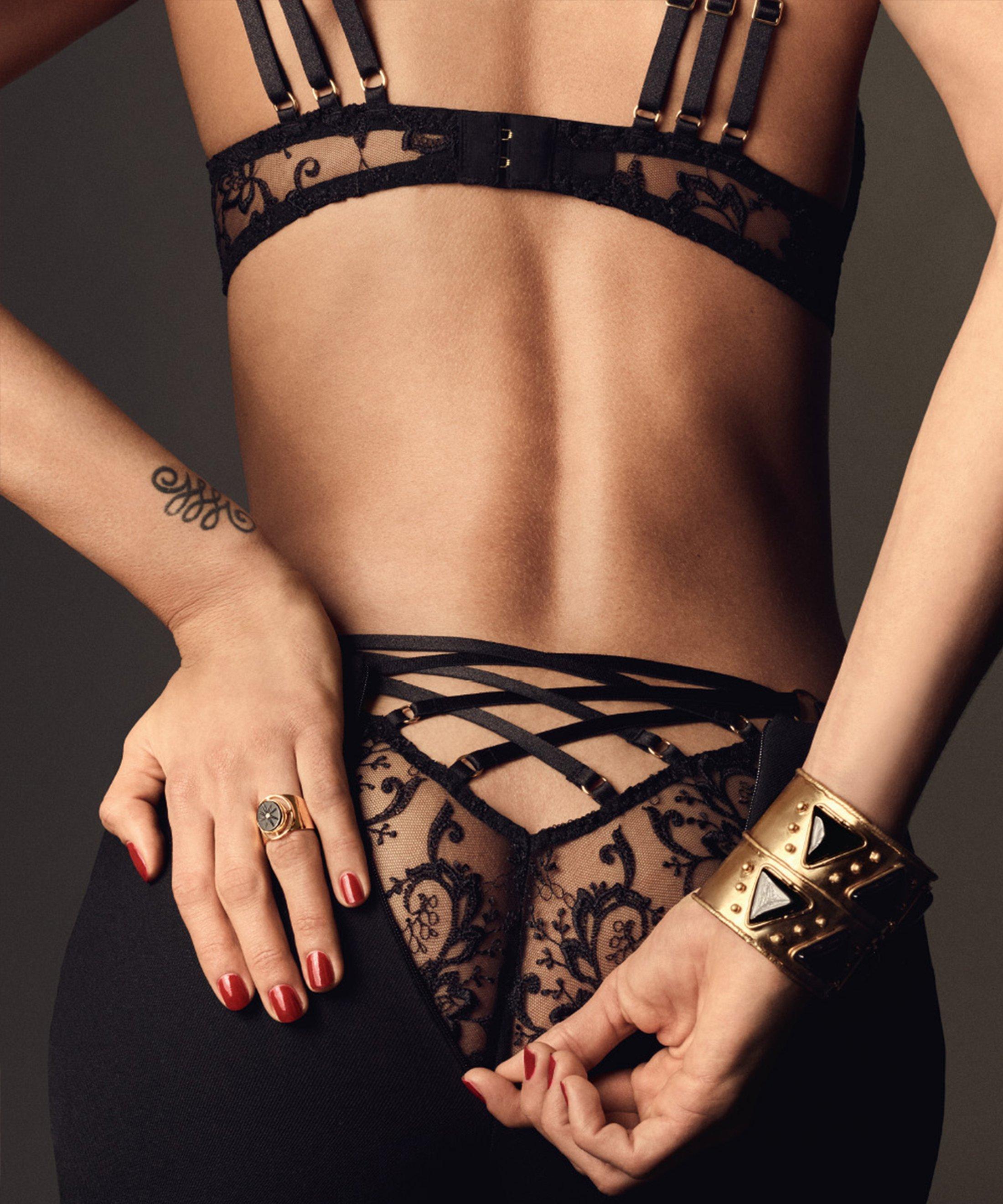 LA REINE DE LA NUIT Culotte Italienne Noir Lyrique | Aubade