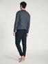 CALIDA Relax Streamline Basic Pyjama avec bords élastiques