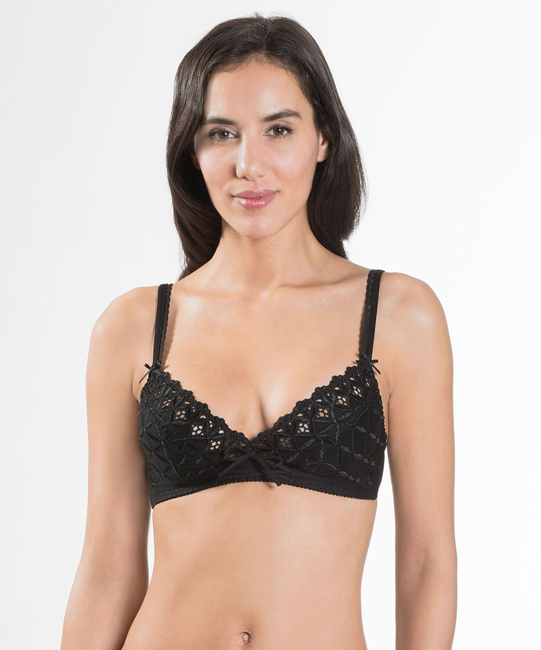 BAHIA Triangle Bra Black | Aubade