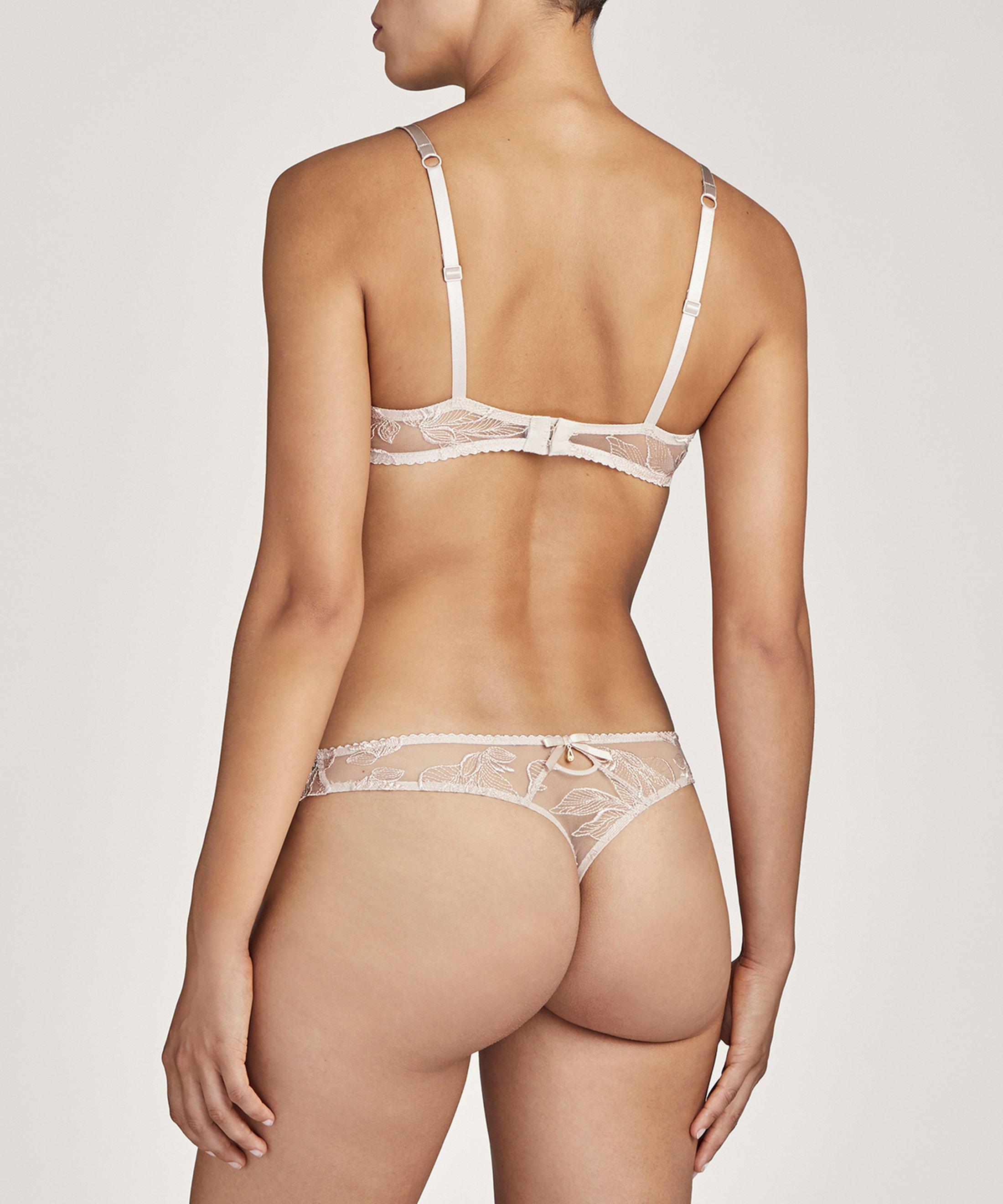FLEUR DE TATTOO Soutien-gorge corbeille Nude Skin | Aubade