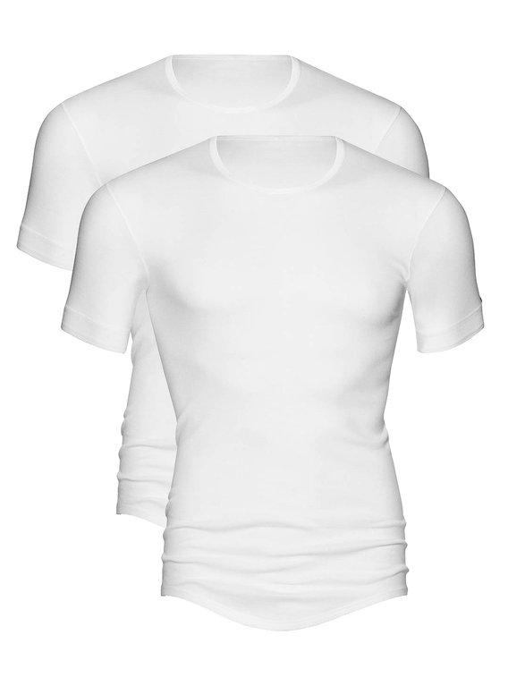 MEY Noblesse Shirt Halbarm im Doppelpack