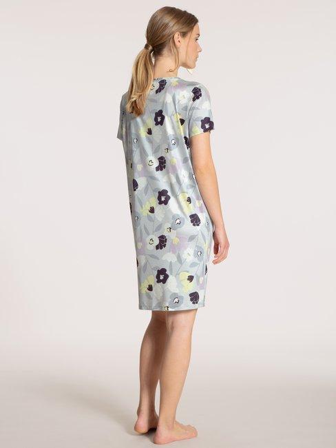 CALIDA Fabulous Nights Sleepshirt Kurzarm, Länge 95cm
