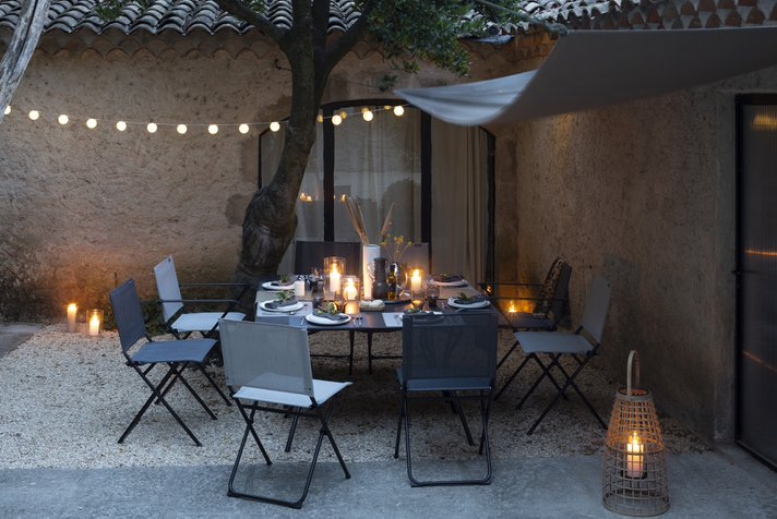 Our ideas for a well decorated patio