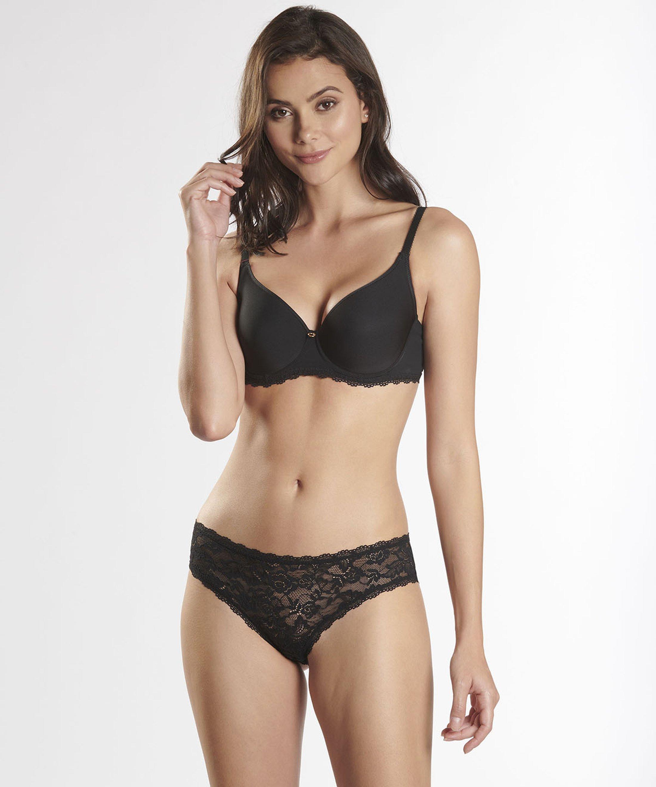 LYSESSENCE Soutien-gorge T-shirt bra Noir | Aubade