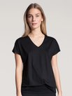 CALIDA Favourites Relax Kurzarm-Shirt, V-Neck