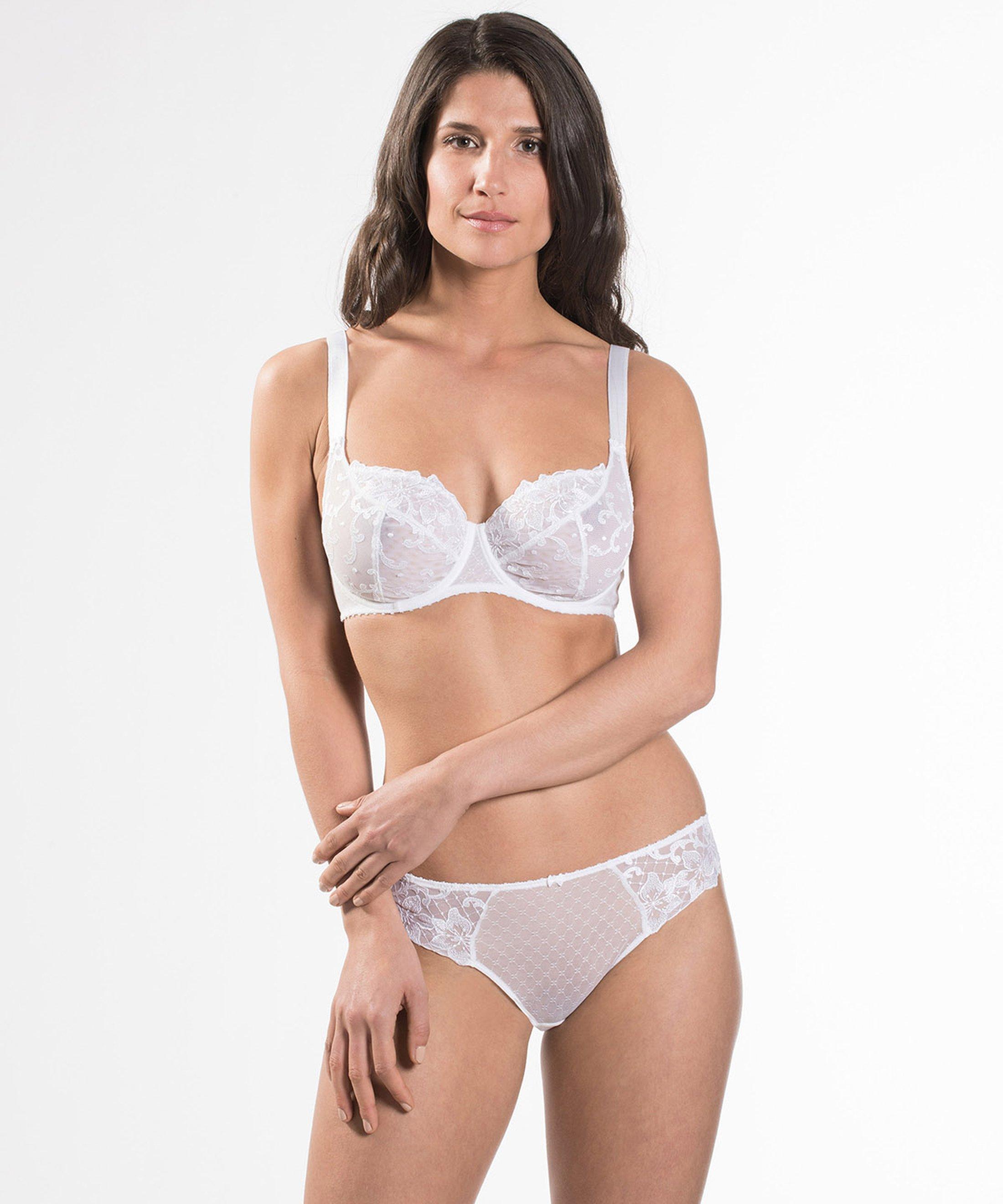 WANDERING LOVE Soutien-Gorge Emboîtant Confort White | Aubade