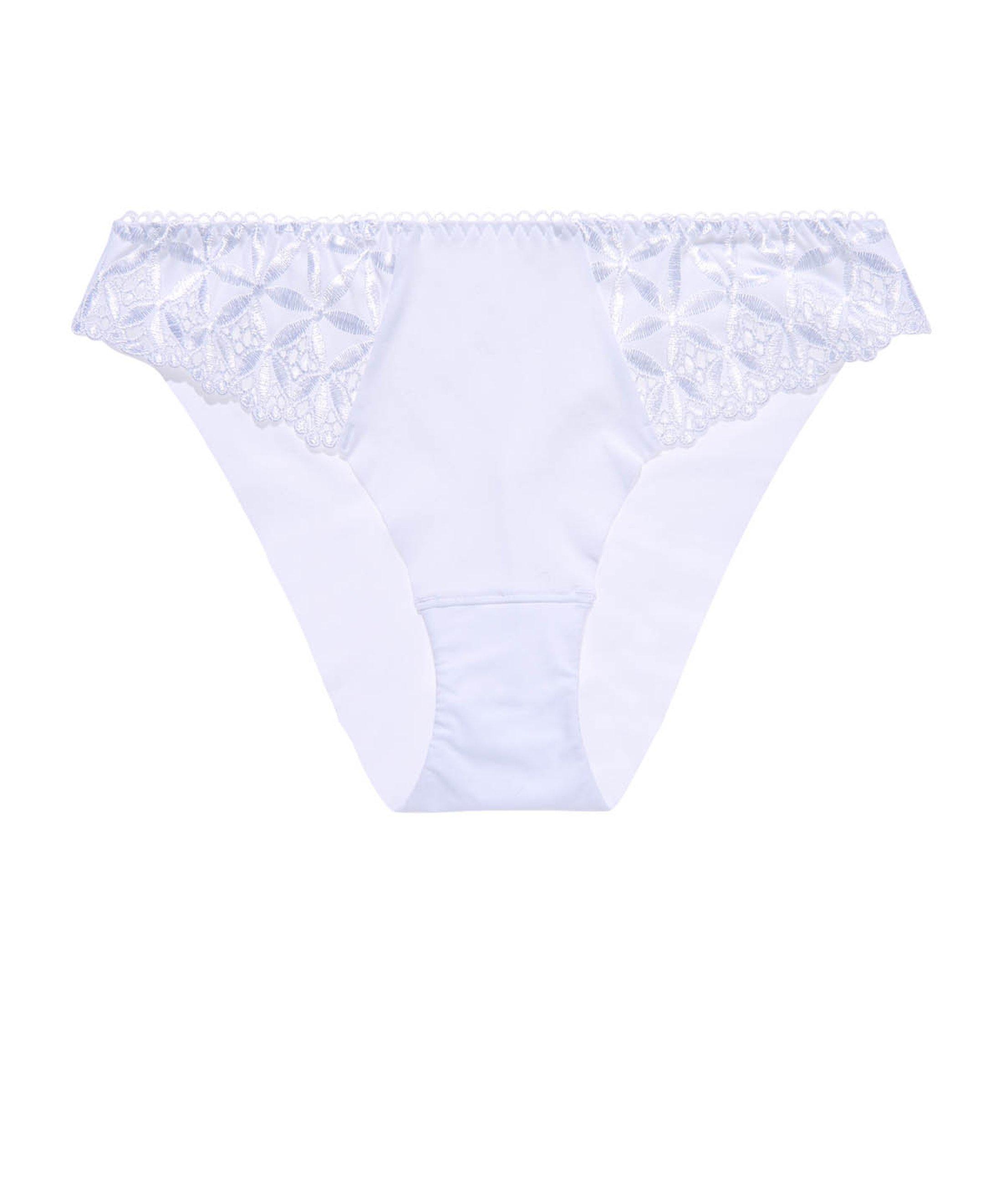 BAHIA ET MOI Culotte Brésilienne Blanc | Aubade