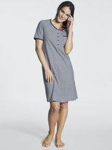 RINGELLA Women Kurzarm-Nachthemd, Länge 95 cm