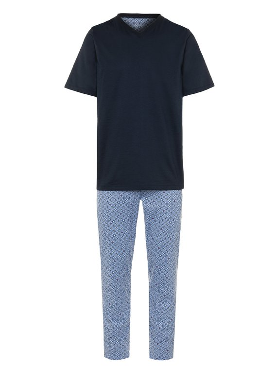 SEIDENSTICKER Minimal Pyjama, lang
