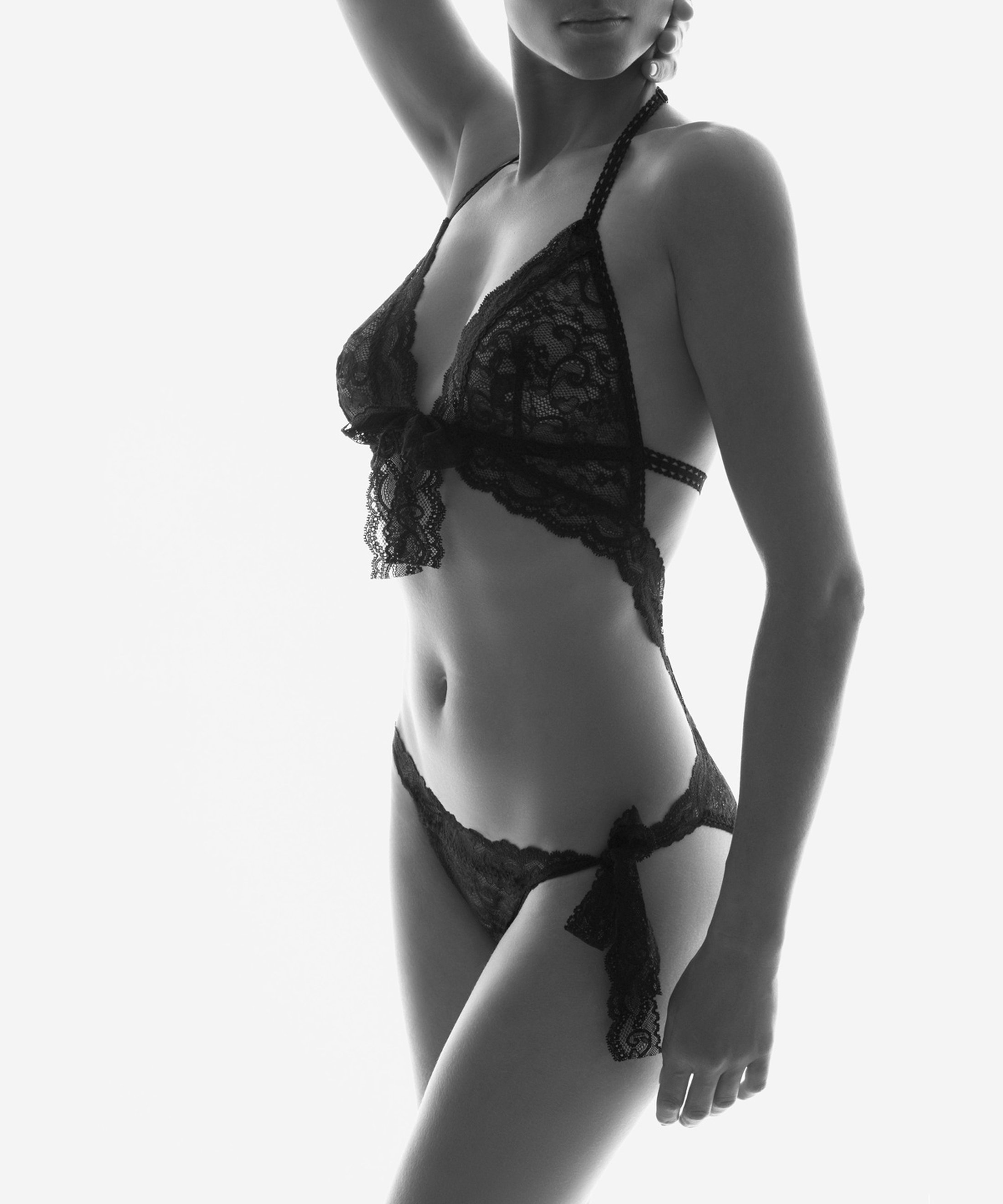 BOÎTE À DÉSIR Trikini Black | Aubade