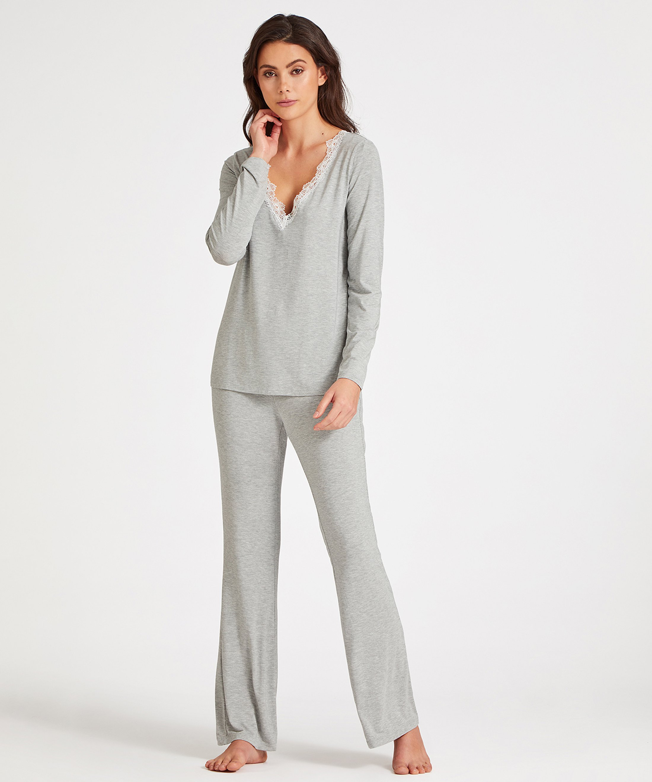 SWEET BLISS Top manches longues Gris Graphite | Aubade