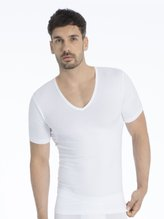 MEY Dry Cotton Functional Kurzarm-Shirt mit Shape-Funktion