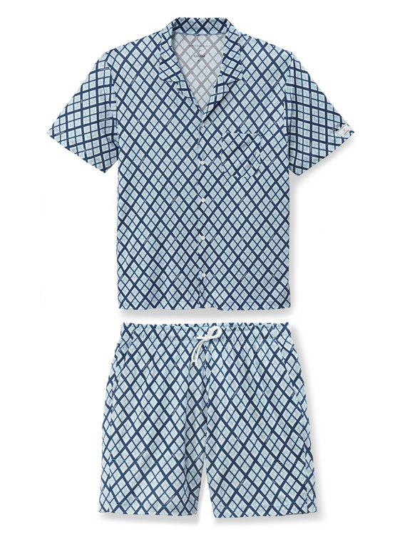 CALIDA VIKTOR&ROLF X CALIDA Kurz-Pyjama, Compostable