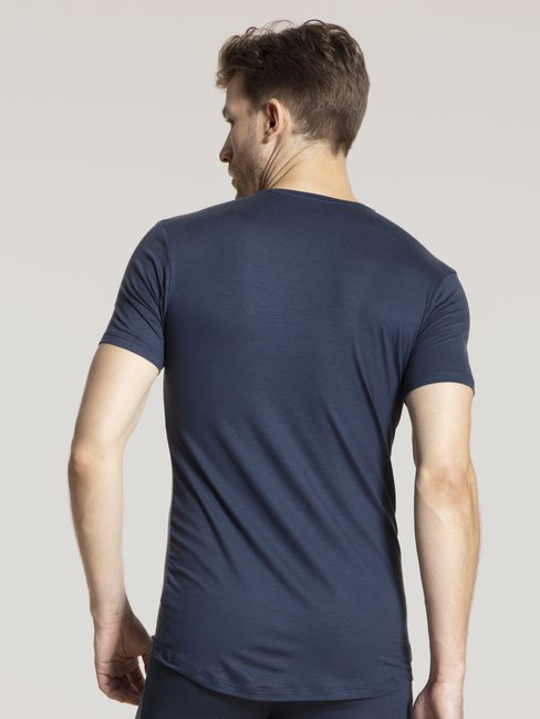 CALIDA Natural Micro T-Shirt mit V-Neck