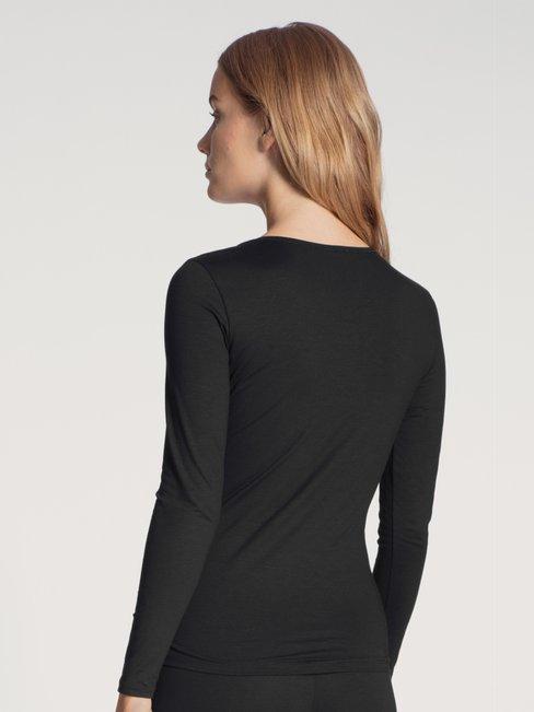 CALIDA Natural Comfort Shirt a manica lunga