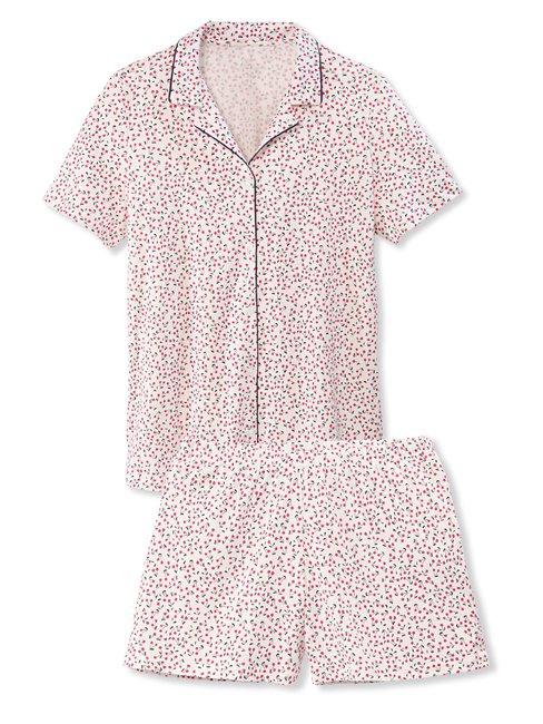 CALIDA Springtime Sleep Kurz-Pyjama, durchgeknöpft