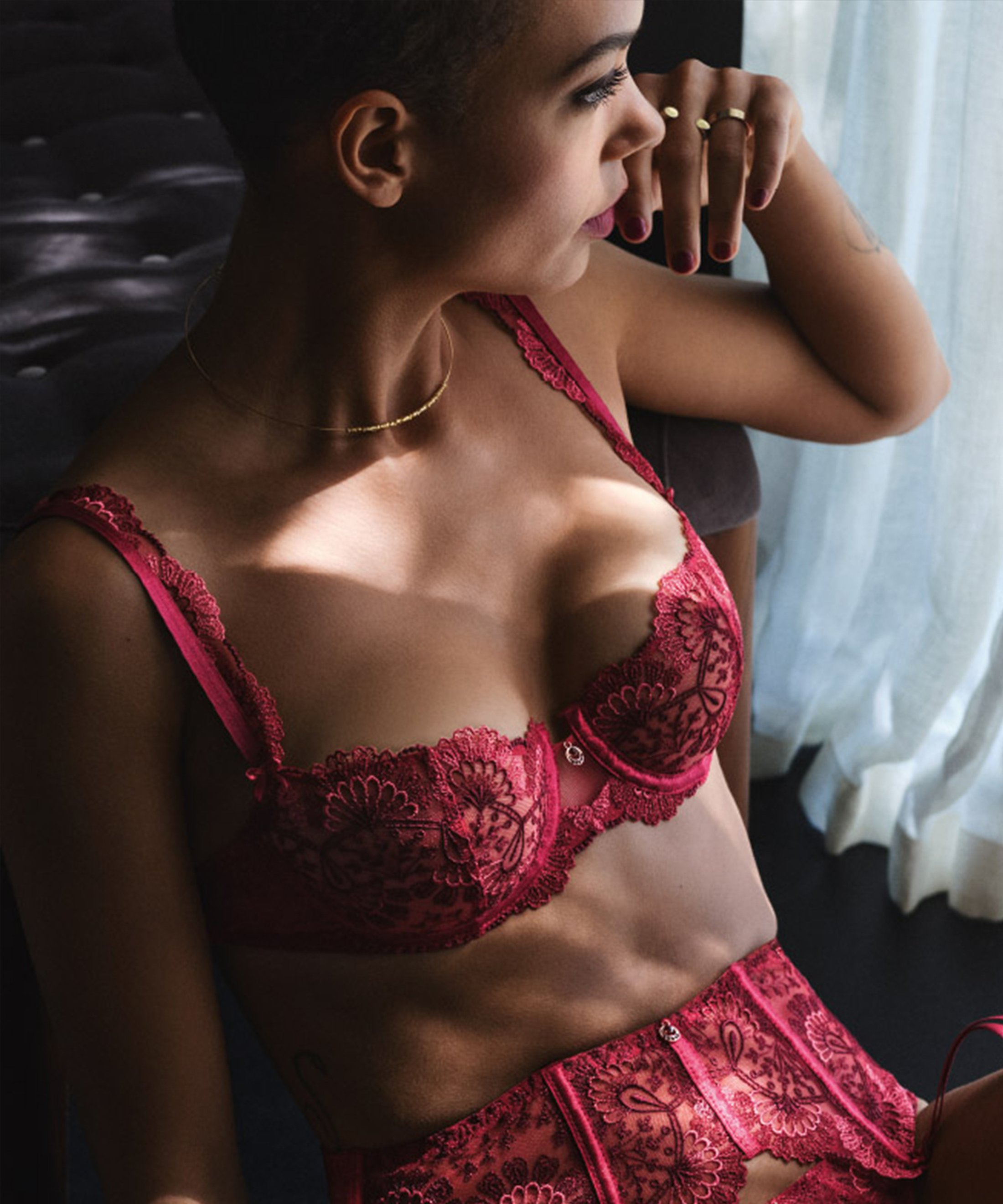 ART OF INK Soutien-gorge corbeille French Red | Aubade
