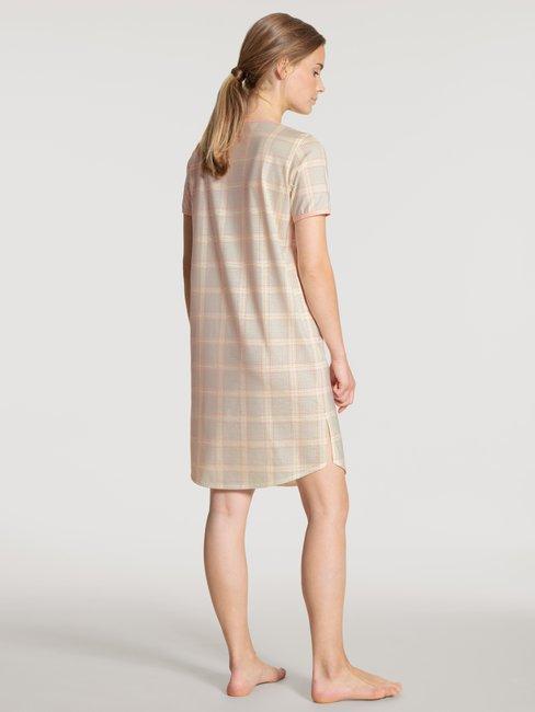 CALIDA Tender Nights Sleepshirt kurzarm, Länge 95cm