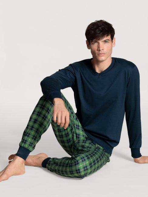 CALIDA Casual Comfy Bündchen-Pyjama