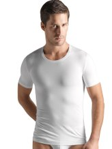 HANRO Cotton Superior Shirt, Rundhals