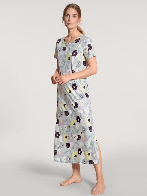 CALIDA Fabulous Nights Kurzarm-Nachthemd, Länge 125cm