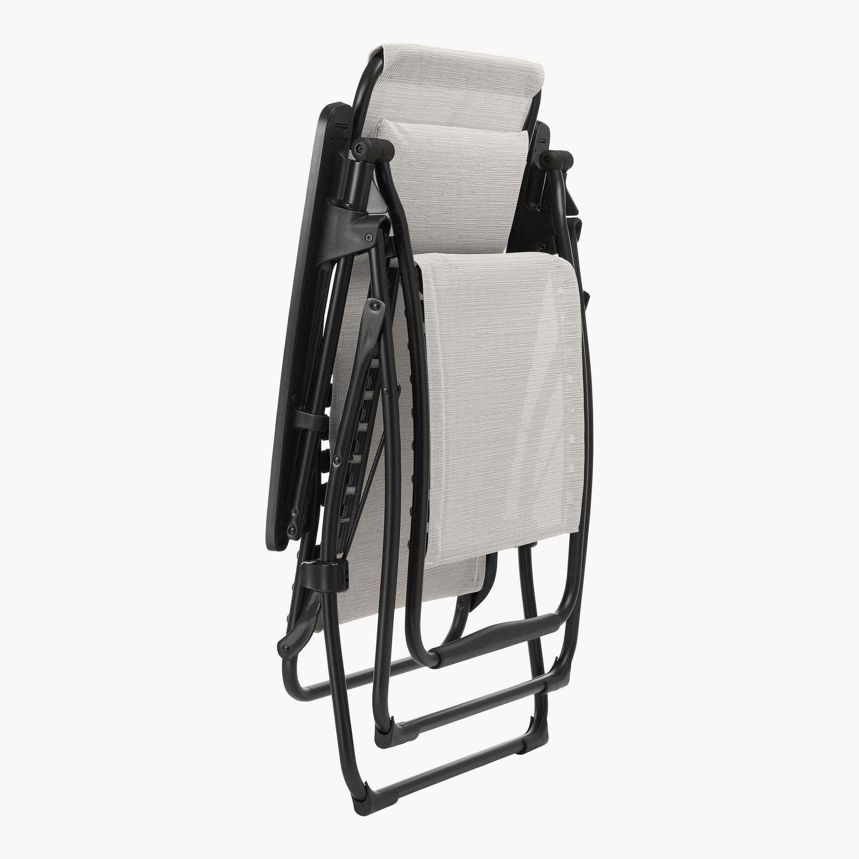 fauteuil de relaxation futura batyline duo galet  lafuma