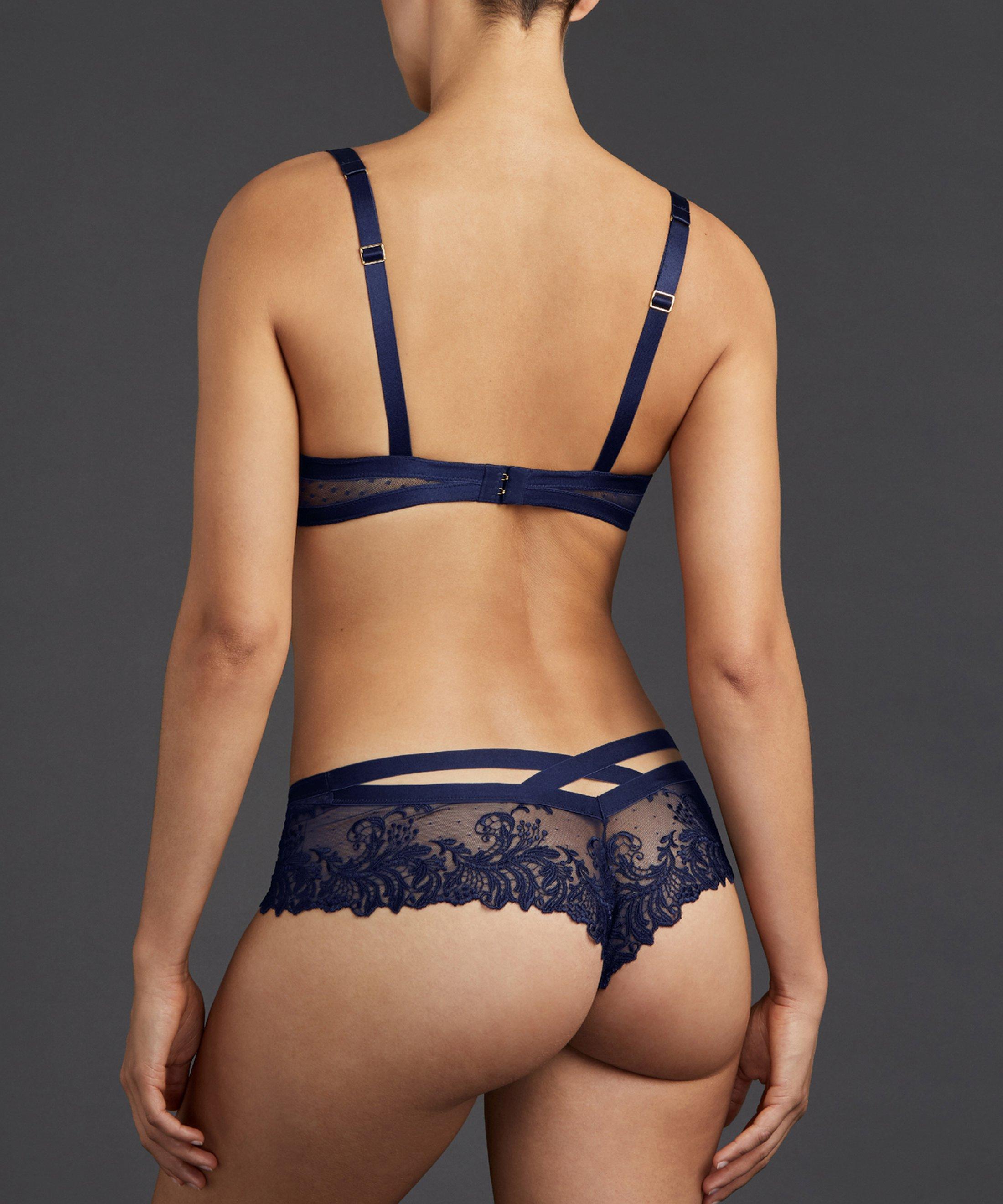 FEMME PASSION Half cup bra Crépuscule Blue | Aubade