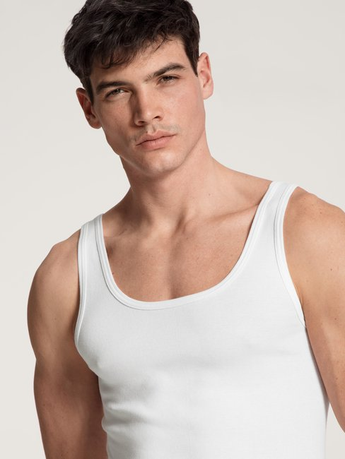 CALIDA Classic Cotton 1:1 Athletic-Shirt 2er-Pack