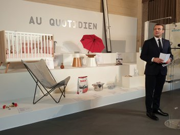 LAFUMA MOBILIER at the ELYSEE palace