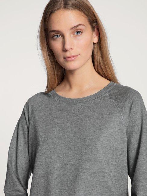 CALIDA Favourites Lounge Shirt a manica lunga, french terry
