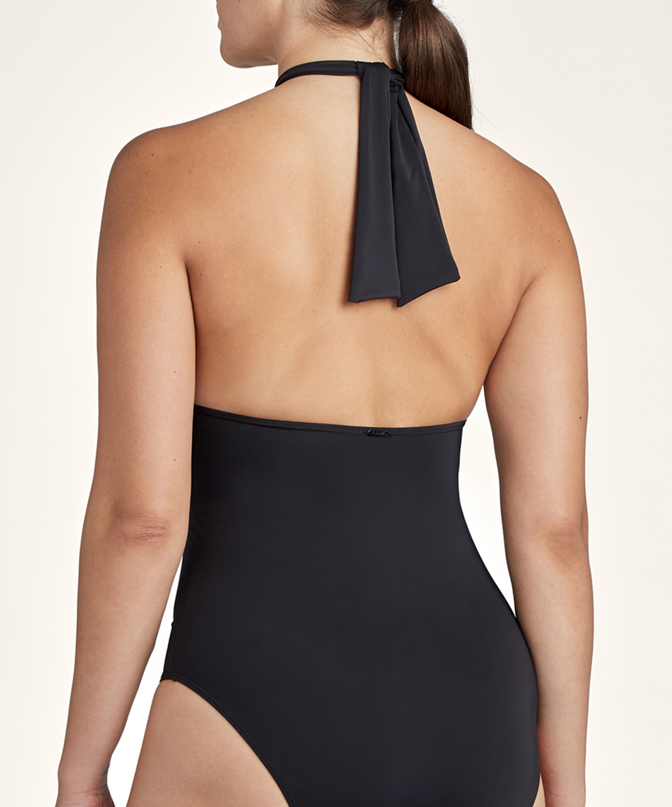 LA PLAGE ENSOLEILLÉE One-piece swimsuit with removable padding Black | Aubade