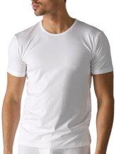 MEY Dry Cotton Kurzarm-Shirt, Rundhals