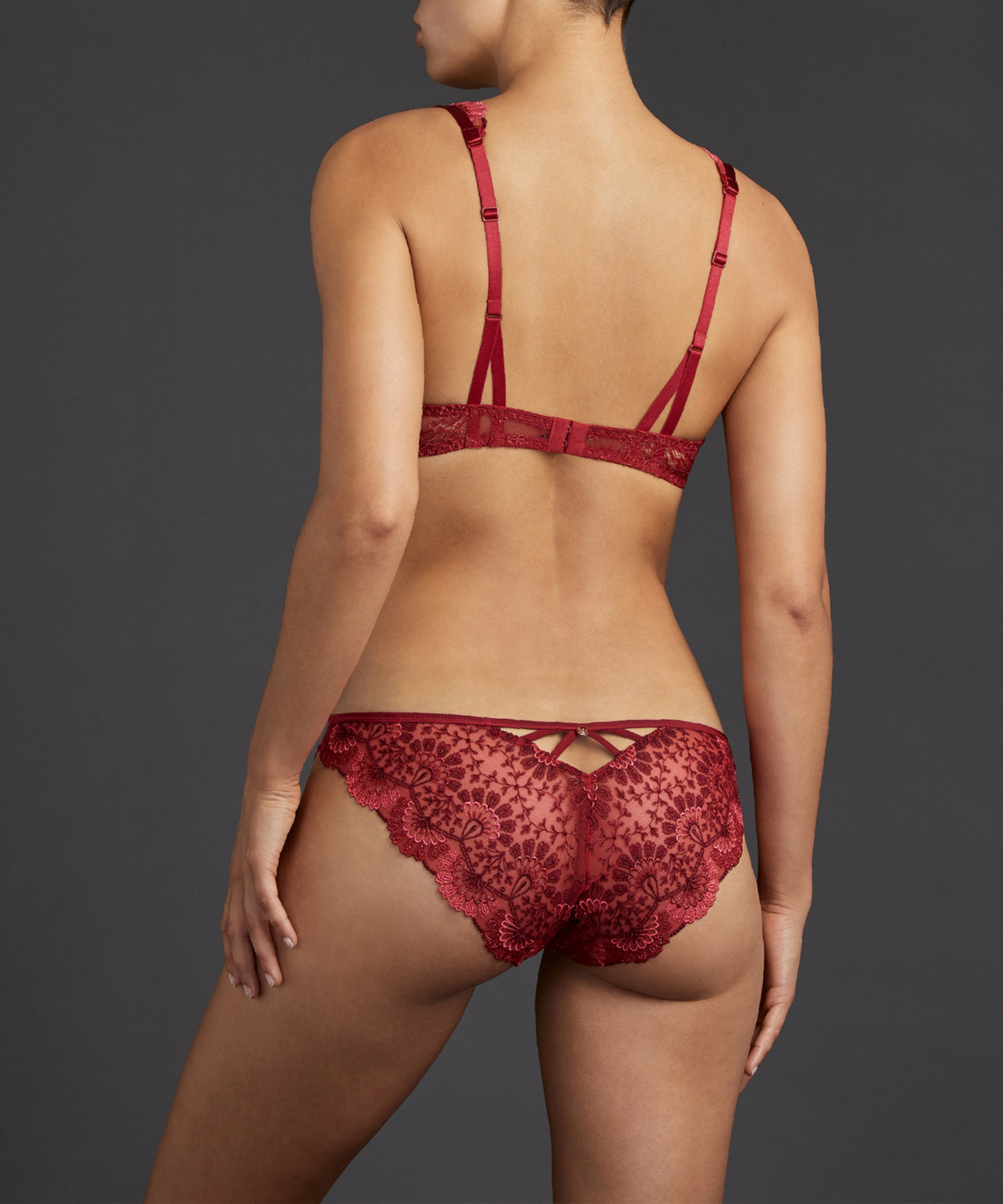 ART OF INK Soutien-gorge push-up French Red | Aubade