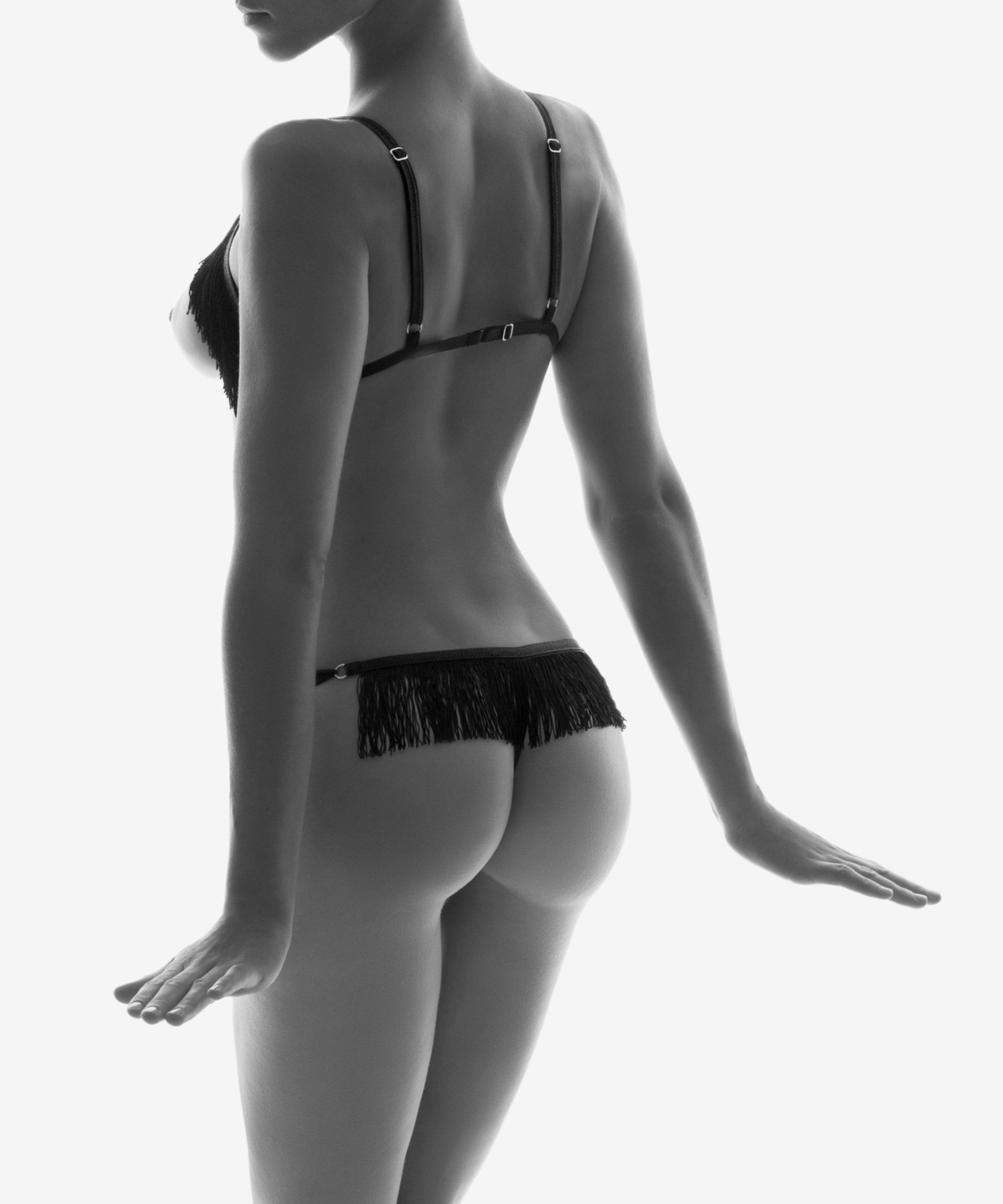 BOÎTE À DÉSIR Set Sexy Retro Noir | Aubade