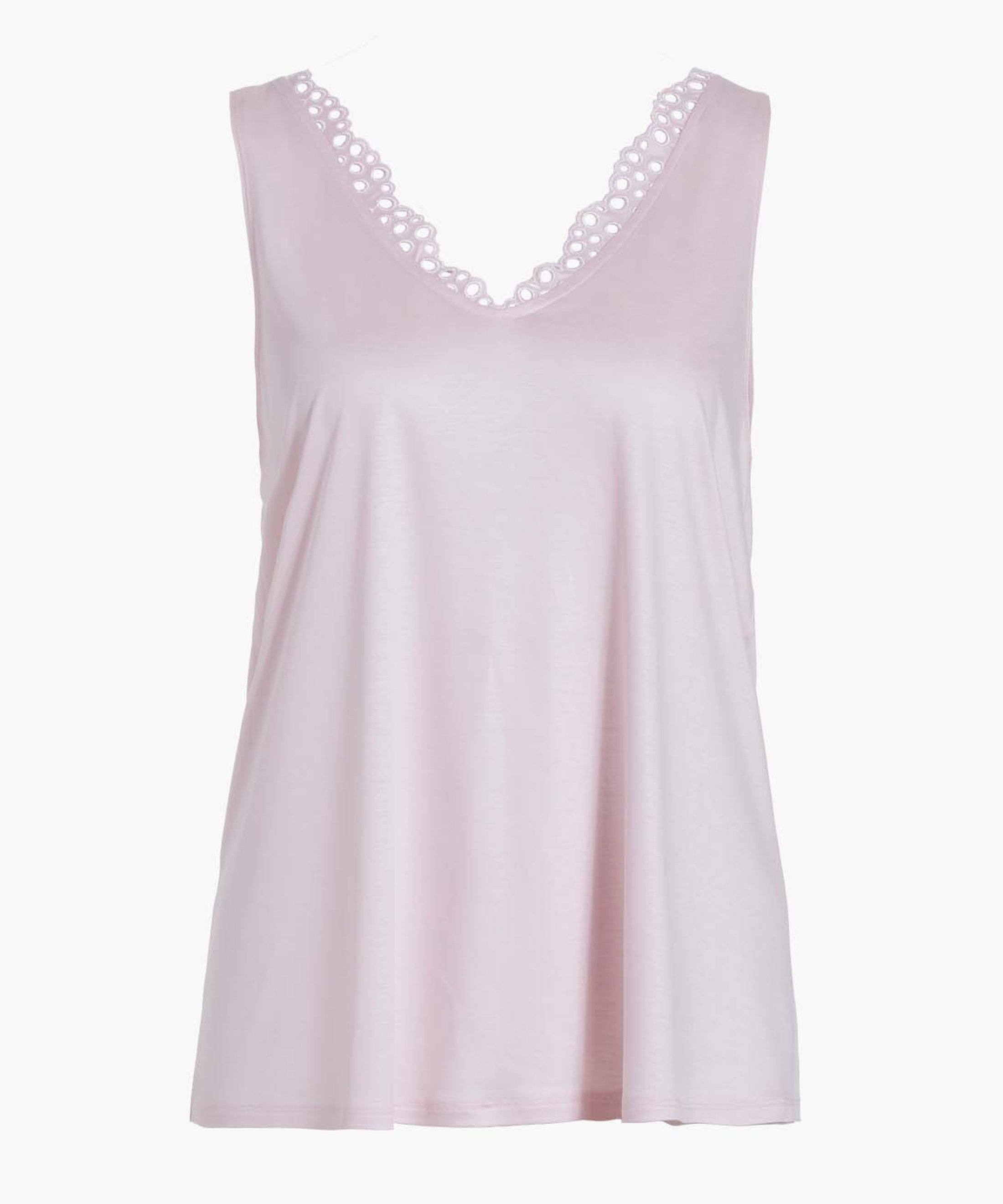 BULLE DE DOUCEUR Top en Tencel Rose pâle | Aubade