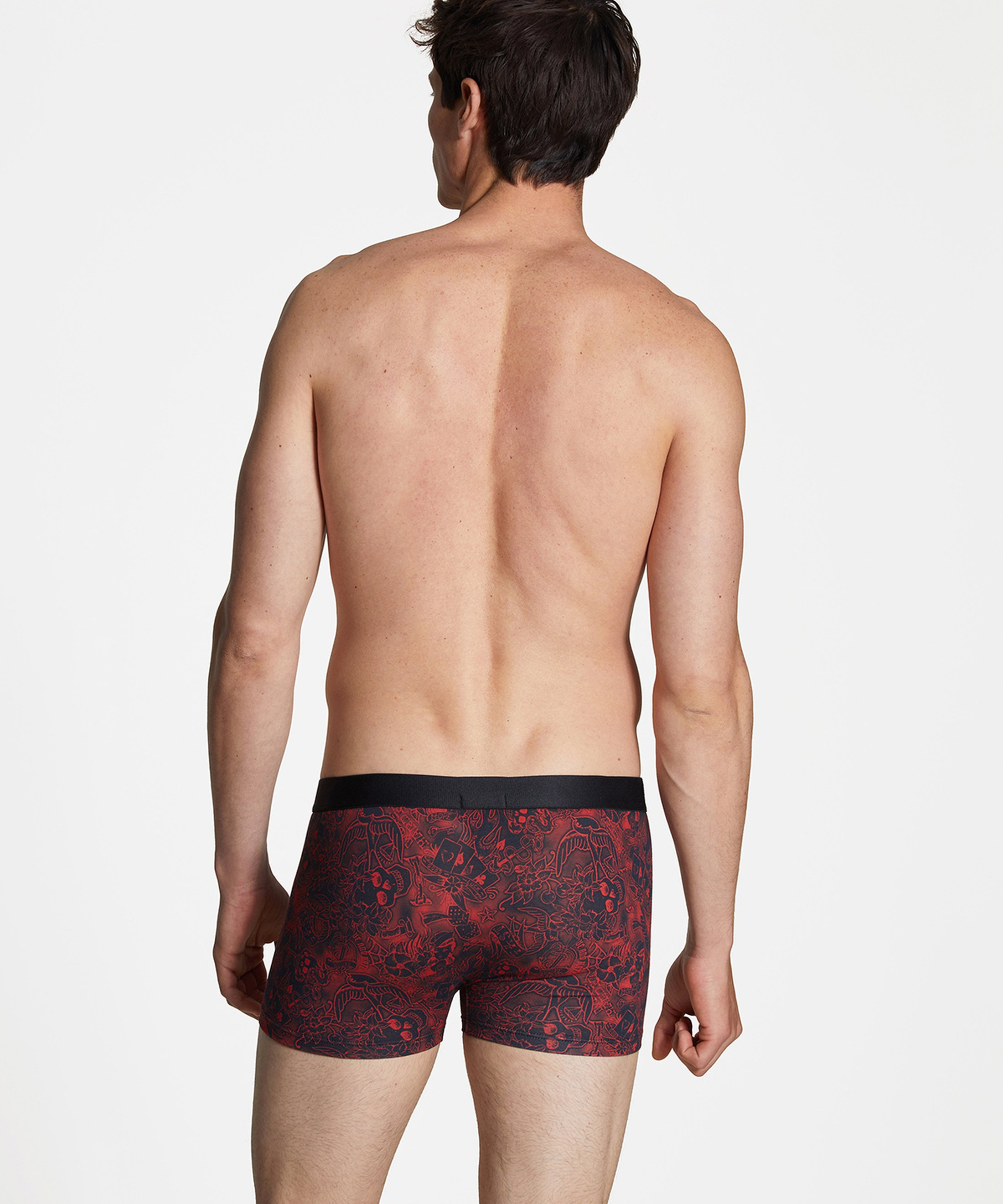 AUBADE HOMME Boxer homme Old Tattoo Rouge | Aubade