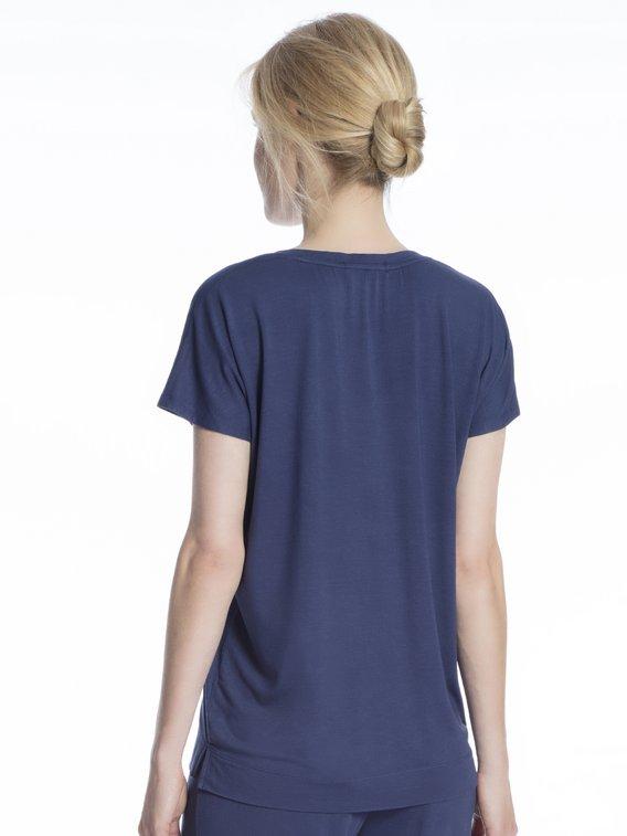 LAUREN BY RALPH LAUREN Rayon Span Kurzarm-Shirt