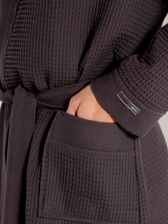 TAUBERT Thalasso Men Piquée Kimono Länge 120cm