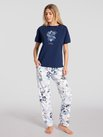 TRIUMPH Lounge-Me Cotton Pyjama mit Blumen-Print