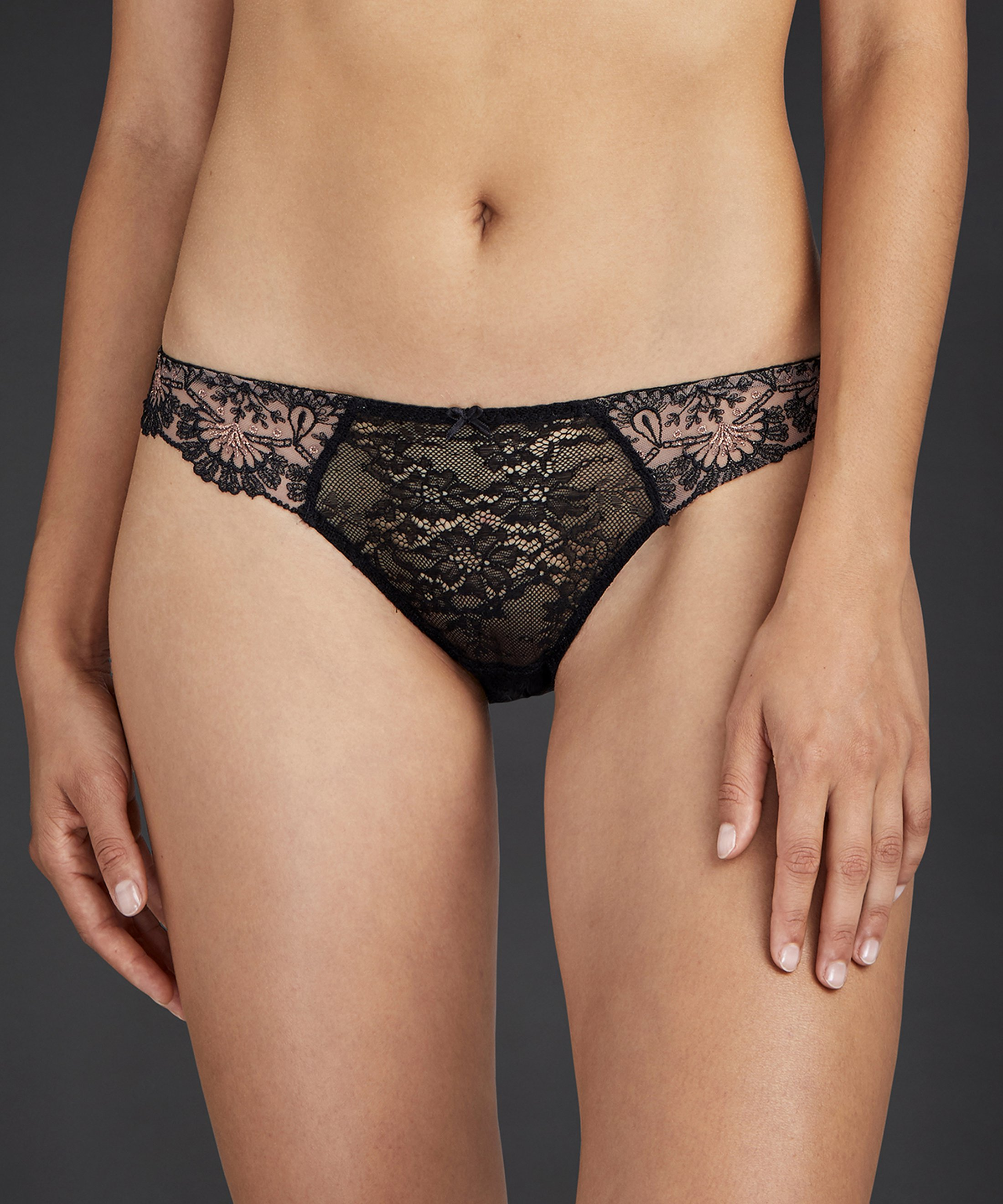 ART OF INK Mini-coeur brief Icone Black | Aubade