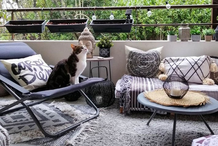 How to create a cocooning balcony?